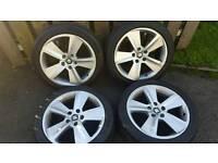 17inch 5x112 genuine seat leon fr alloys rims wheels fit vw golf mk5 caddy van touran jetta etc