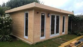 LOG HOMES HORSE STABLES LOG CABINS BEACH HUTS CHALETS GARDEN OFFICES BESPOKE HAND BUILT UK LONDON