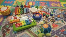 Large Bundle of Musical Toys