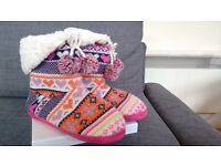 Winter Bootie Slippers (Size UK 4 - 37 EURO)