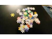 Small Flower Shapes, crafts