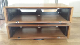 S&C Lcd & Plasma Modus S4 Walnut Cabinet TV Stand (ZIN372100/WAI)