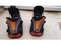 Snow Board Bindings (Flow, Quick release, excellent condition)