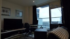 *** WHITE STUDIO SUITE AVAILABLE IN PAN PENINSULA E14 *** CANARY WHARF HIGH FLOOR