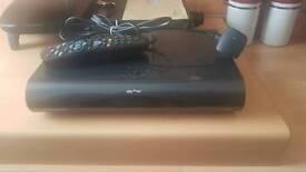 Sky Plus HD box 2tb 3d on demand box