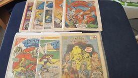Selection of 2000AD comics