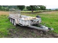Tri axle plant trailer - 3 ton digger