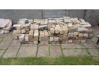 Bricks old chimney bricks