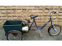 MOTORISED PASHLEY TRIKE.. GREAT FUN...GREAT FOR FESTIVAL. VERY POWERFUL