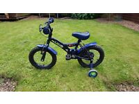 Boys 14 inch moonman bike