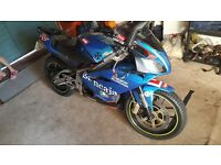 Aprilia rs 125 two stroke new mot new tyres for sale