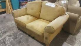2 seater sofa in biscuit fabric