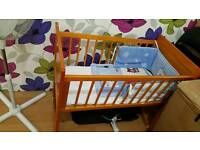 Baby cot 2in one