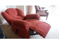 SherborneTuscany dual motor electric recliner chair with lift and rise action