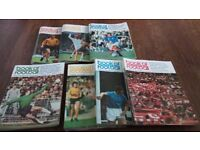 BOOK OF FOOTBALL MAGAZINE JOB LOT 68 MAGAZINES