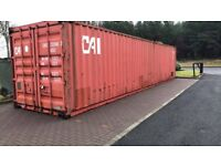 40 ft metal Containers