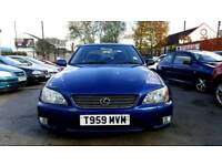Lexus IS200 S Blue Alloy Wheels Manual