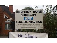 Cleaner for GP Surgery Monday to Friday 7.30am to 9.30am
