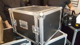 flightcase with slide out racks