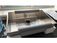 Franke new large stainless steel sink 110x70