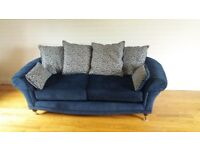 3 seater sofa perfect condition - recovered 1 year ago - local delivery available