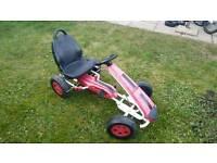 Kids pedal kart
