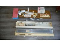 Brother kh840 knitting machine and all accessories