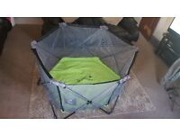 Baby Portable Play Pen - 14 sq foot play area