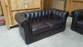 Pair of Chesterfield 2 seaters