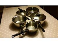 Polaris of Norway saucepans and Frying Pan