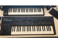 Roland JP8000 Synth. I've had from new, works perfectly. Even have the original manual.