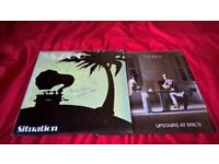 "Autographed Yazoo vinyl - Situation 12"" import and Upstairs At Eric's LP"