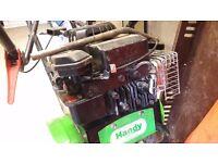 tiller rotavator the handy man