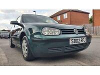 Volkswagen, GOLF, Hatchback, 2002, Manual, 1390 (cc), 3 doors