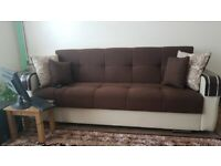 BRAND NEW TURKISH MALTA SOFA BED 3 SEATER OR 2 SEATER IN STOCK