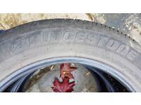 Part Worn Tyres - Bridgestone - 235/ 55 R18 100H