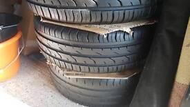 Corsa d alloy wheels continental 195/55 R16