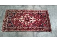 Persian wool hand knotted carpet / rug 300x160cm