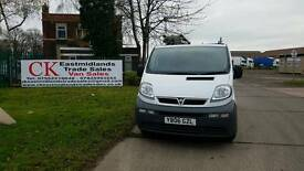 VAUXHALL VIVARO SWB NO VAT FREE WARRANTY AND FINANCE AVAILABLE