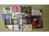 15 books for sale (all pictured) £20 ono