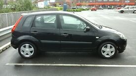 Ford Fiesta with Full MOT and only 75000mls not corsa, clio, polo