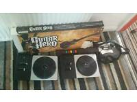 Guitar hero /Dj hero stuff don't have time to test as doing a big clear out £2 each or £5 the lot
