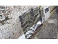 Light steel gate