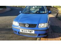 VW POLO 12MONTHS MOT, SERVICE HISTORY, CHEAP ON FUEL TAX, STEREO, TIDY 1.0PETROL £525 ONO