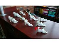 Bone China shoe collection