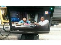 Bush 22 inch screen hd dvd tv £30