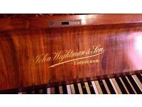 19th Century Edinburgh made upright piano, free to collect.