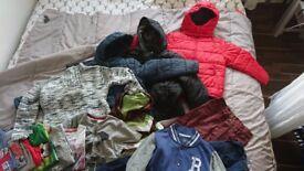 Bundle of mixed boys clothes 9-10size