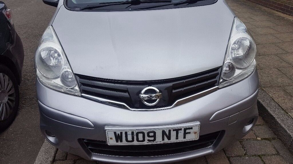 Silver Nissan Note 2009 New Model For Sale