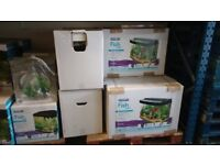 Various Aquariums - Brand New, In Original Packaging